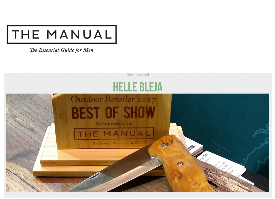 2017-helle-bleja-the-manual