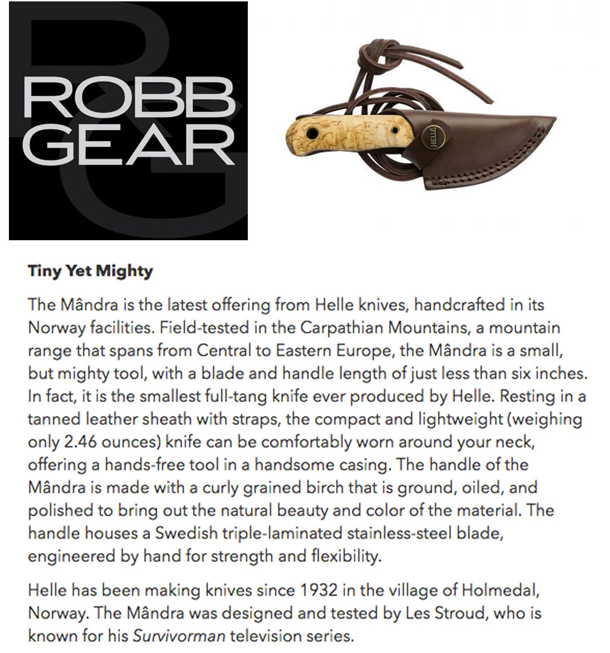 Helle Robb Report