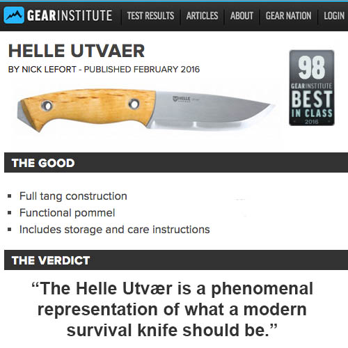 Helle Utvaer Named Among Best in Class by Gear Institute