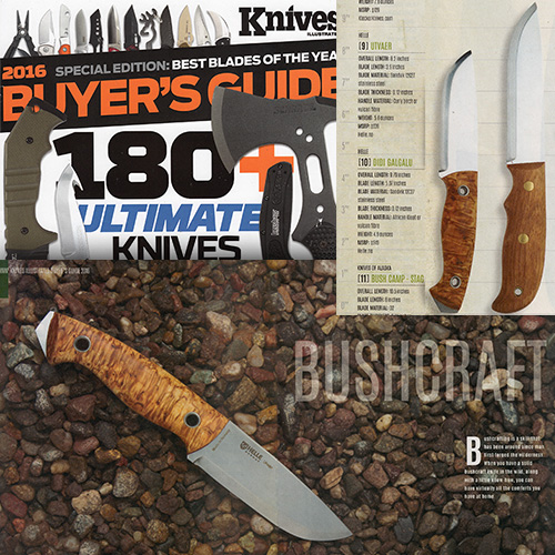 "Helle Knives are some of the ""Best Blades of the Year"" According to Knives Illustrated"