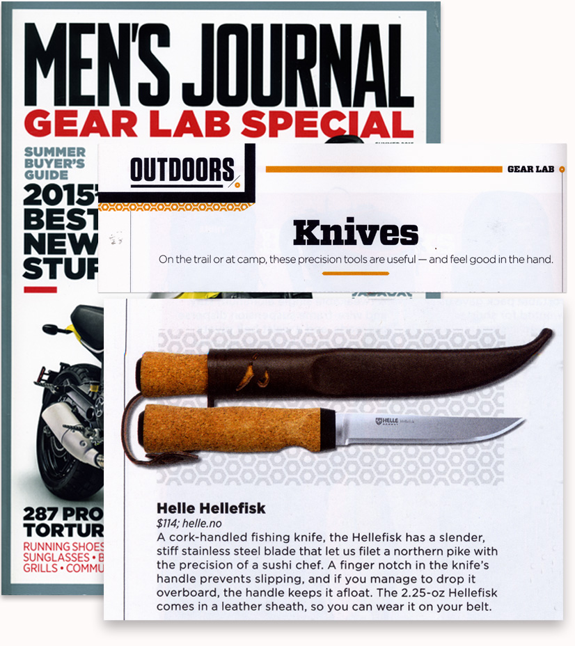 Mens Journal 2015 Hellefisk