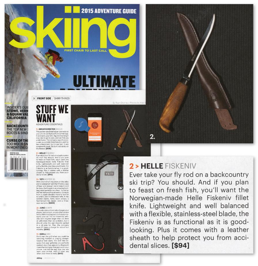 Helle-Skiing